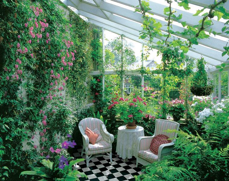 покрив на зимна градина