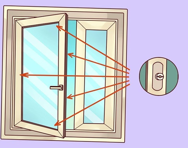 режимите за PVC прозорците