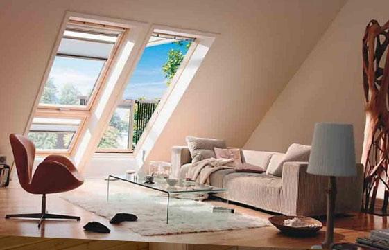 прозорци за таванското помещение